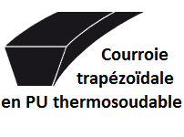 courroie-trapézoïdale-souder-thermosoudable