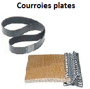 courroie-plate-optibelt-t150-balata